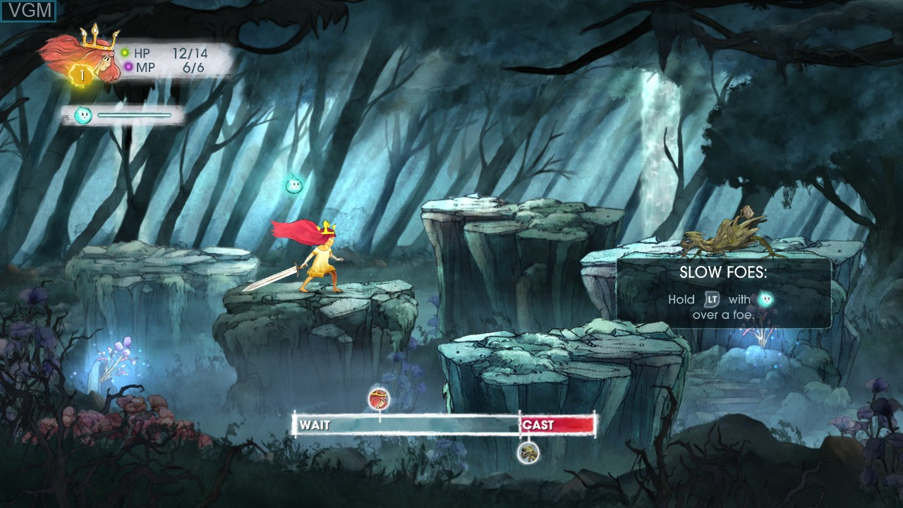 Image in-game du jeu Child of Light sur Microsoft Xbox 360