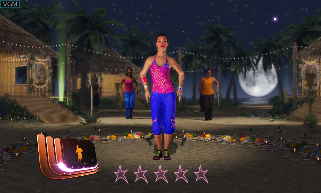 Image in-game du jeu Zumba Fitness Core sur Microsoft Xbox 360