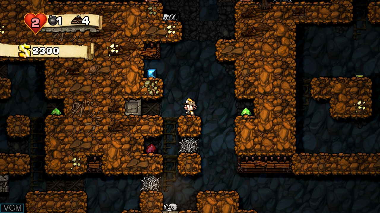 Image in-game du jeu Spelunky! sur Microsoft Xbox 360