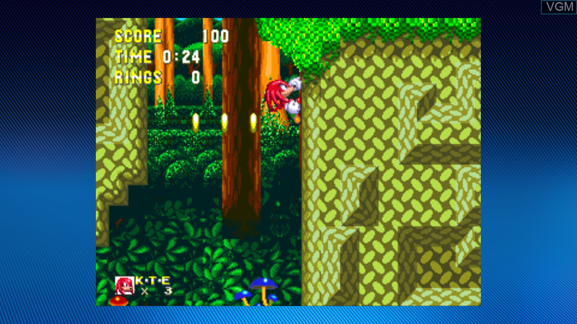 Image in-game du jeu Sonic & Knuckles sur Microsoft Xbox 360