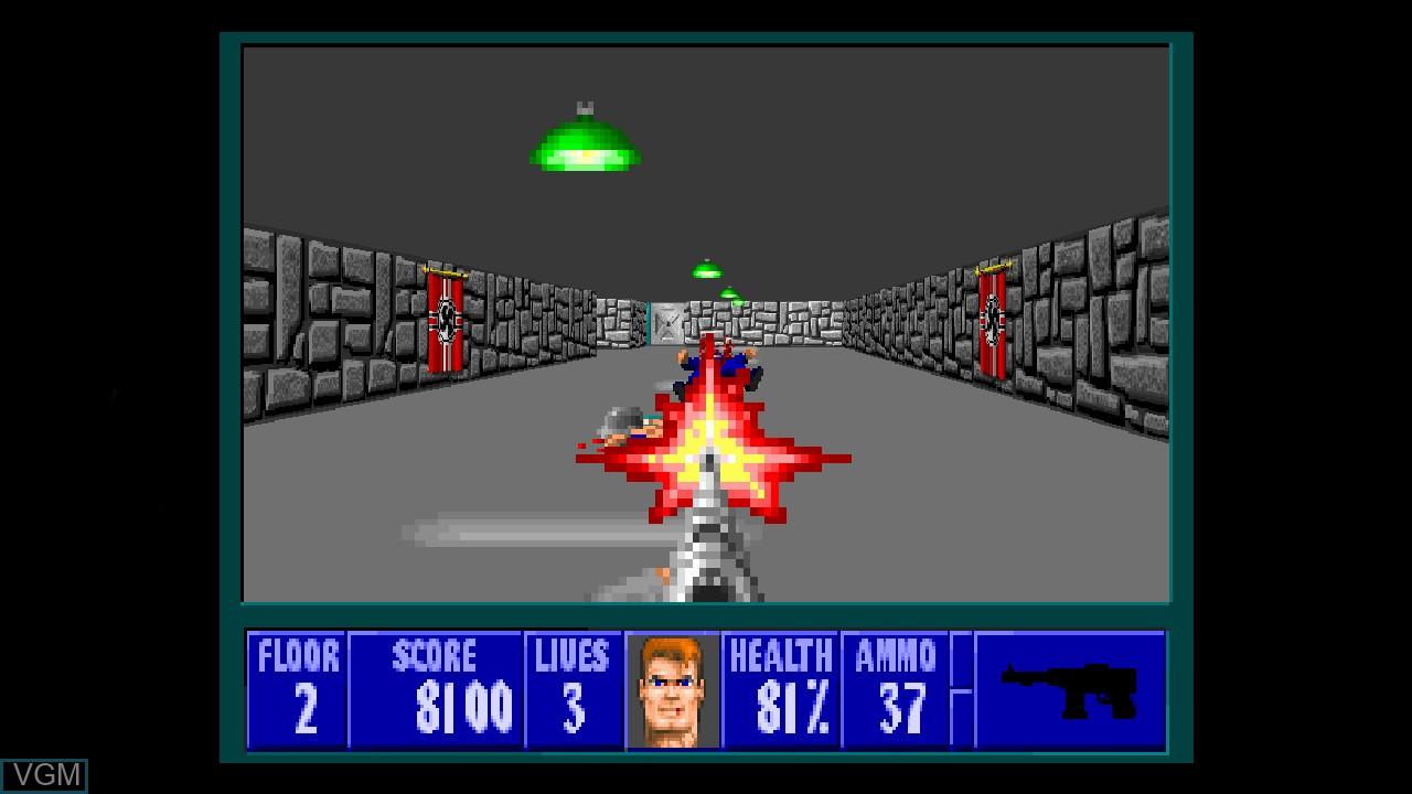 Image in-game du jeu Wolfenstein 3D sur Microsoft Xbox 360