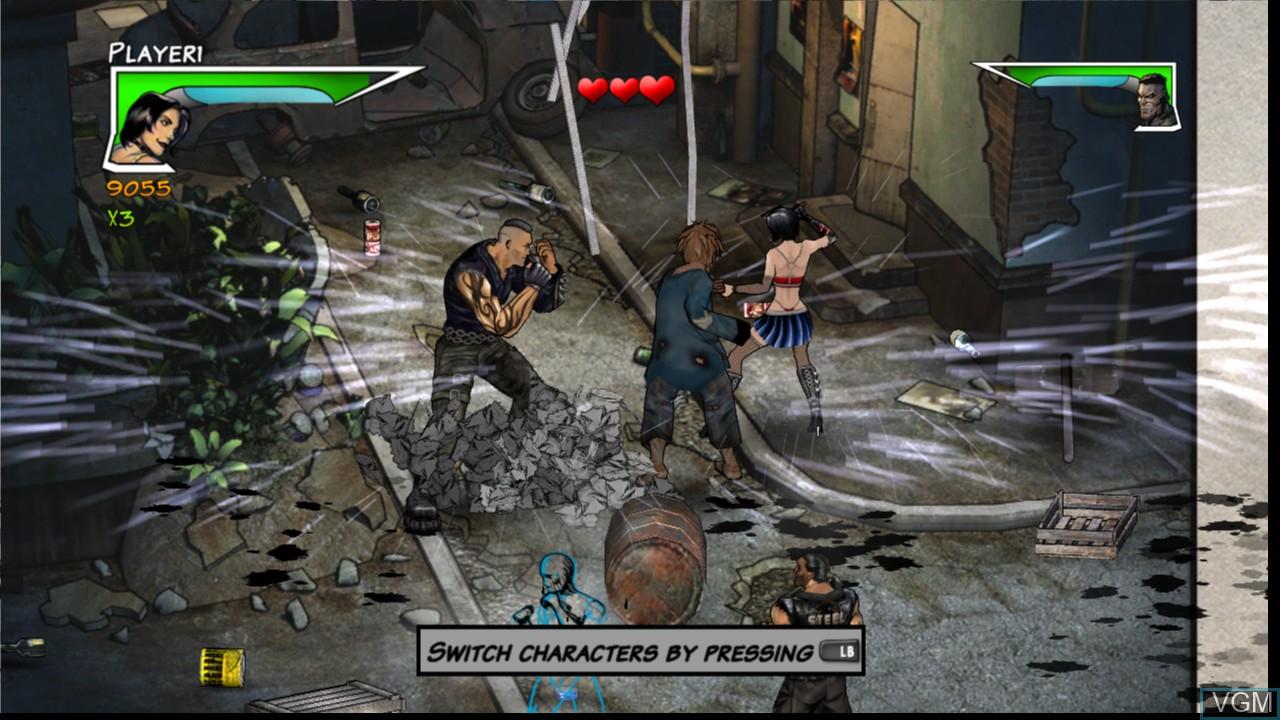 Image in-game du jeu Unbound Saga sur Microsoft Xbox 360