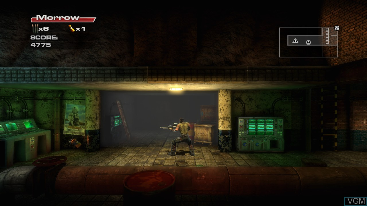 Image in-game du jeu Rush'N Attack Ex-Patriot sur Microsoft Xbox 360