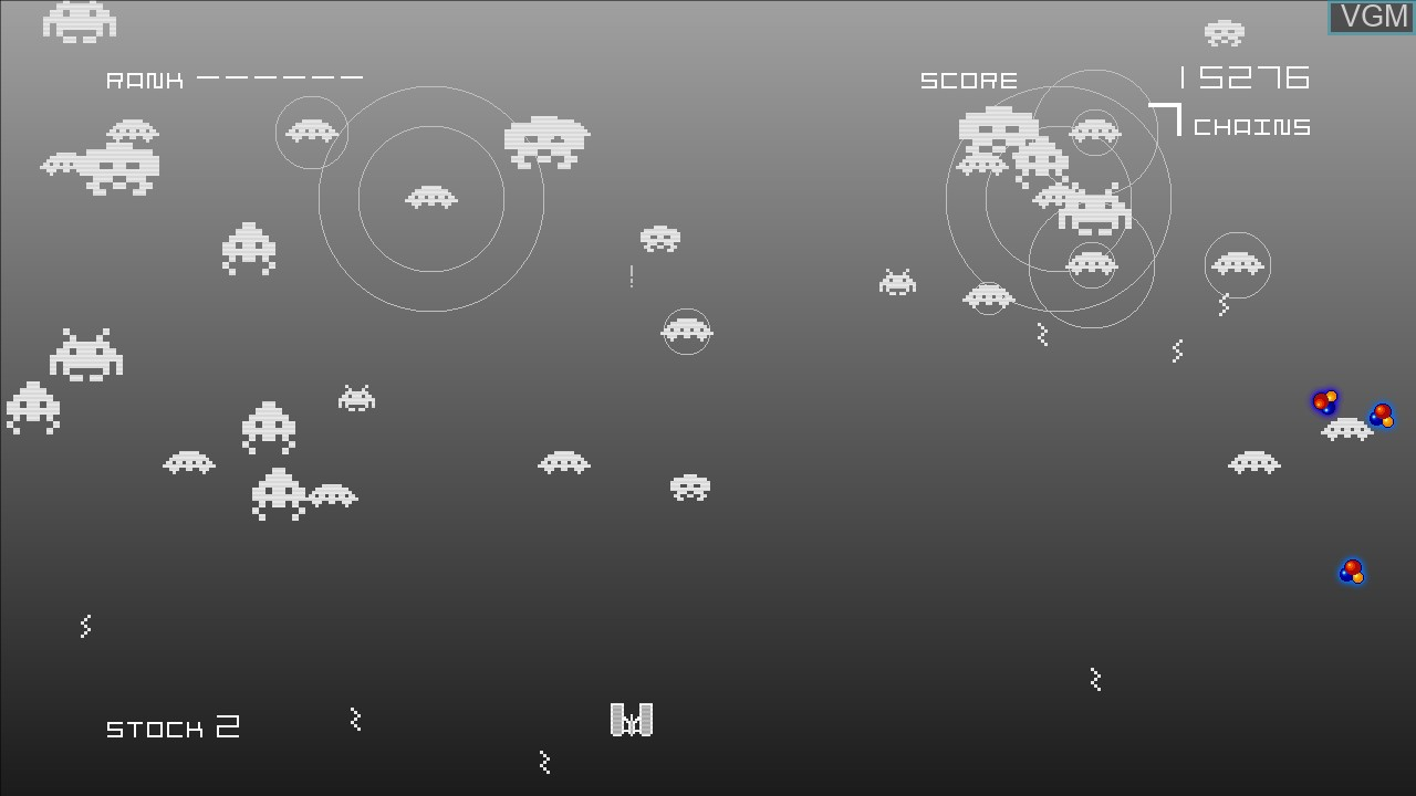 Image in-game du jeu Space Invaders Infinity Gene sur Microsoft Xbox 360
