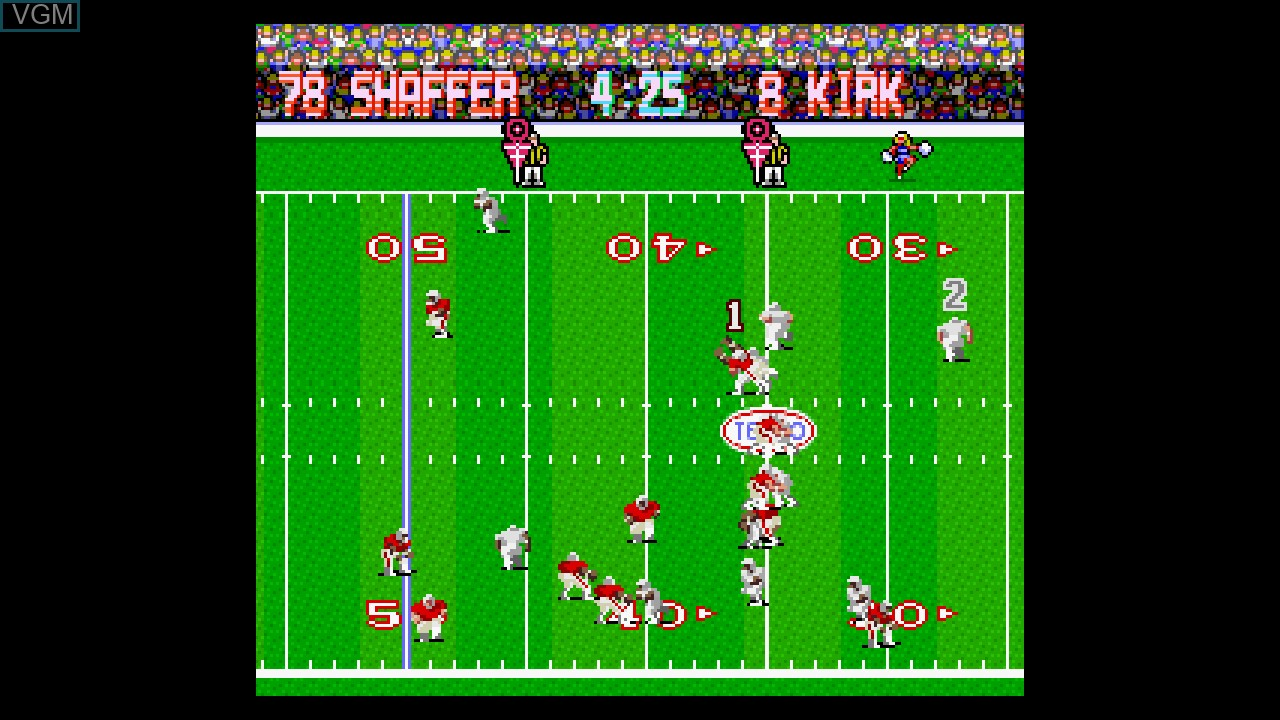 Image in-game du jeu Tecmo Bowl Throwback sur Microsoft Xbox 360