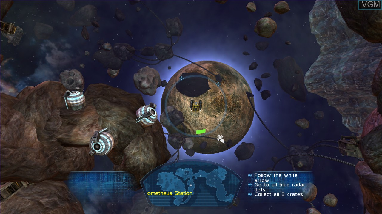Image in-game du jeu Fusion - Genesis sur Microsoft Xbox 360
