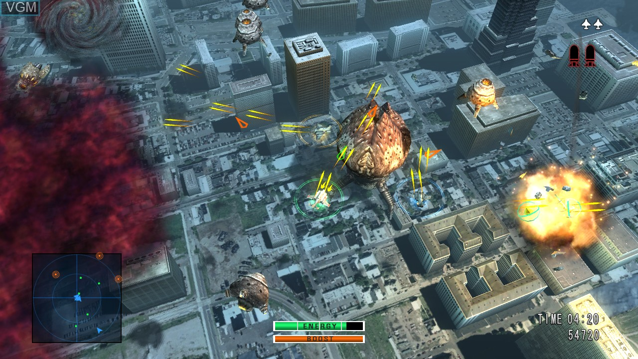 Image in-game du jeu 0 Day Attack on Earth sur Microsoft Xbox 360