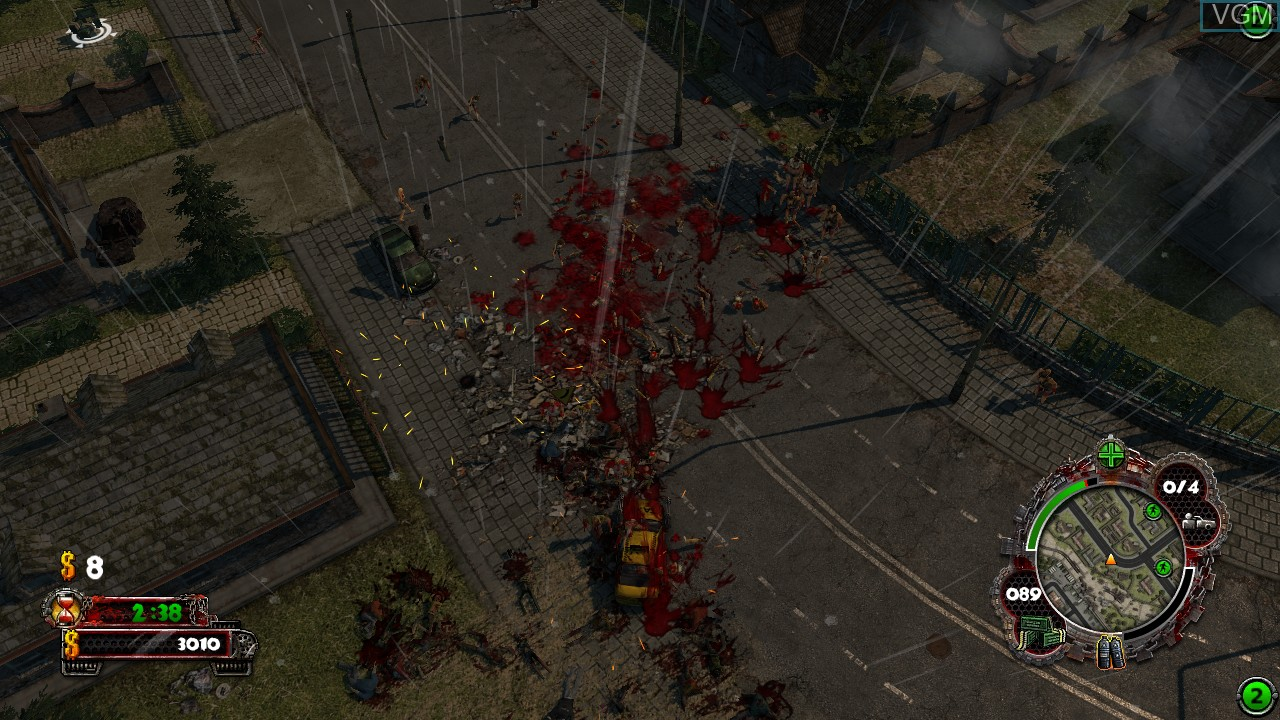 Image in-game du jeu Zombie Driver HD sur Microsoft Xbox 360