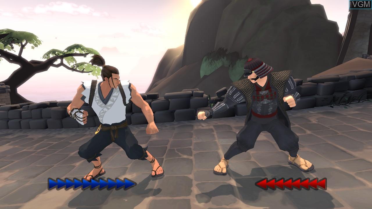 Image in-game du jeu Karateka sur Microsoft Xbox 360