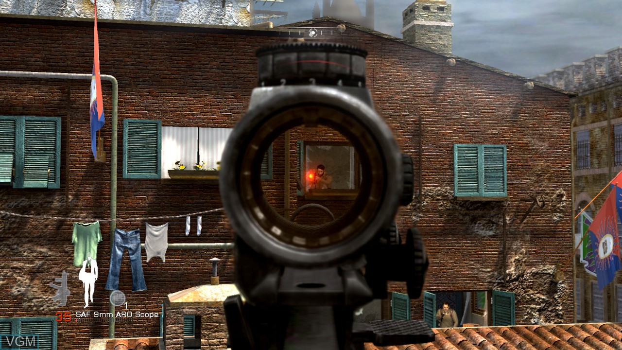 Image in-game du jeu 007 - Quantum of Solace sur Microsoft Xbox 360