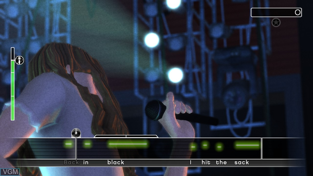 Image in-game du jeu AC/DC LIVE - Rock Band Track Pack sur Microsoft Xbox 360