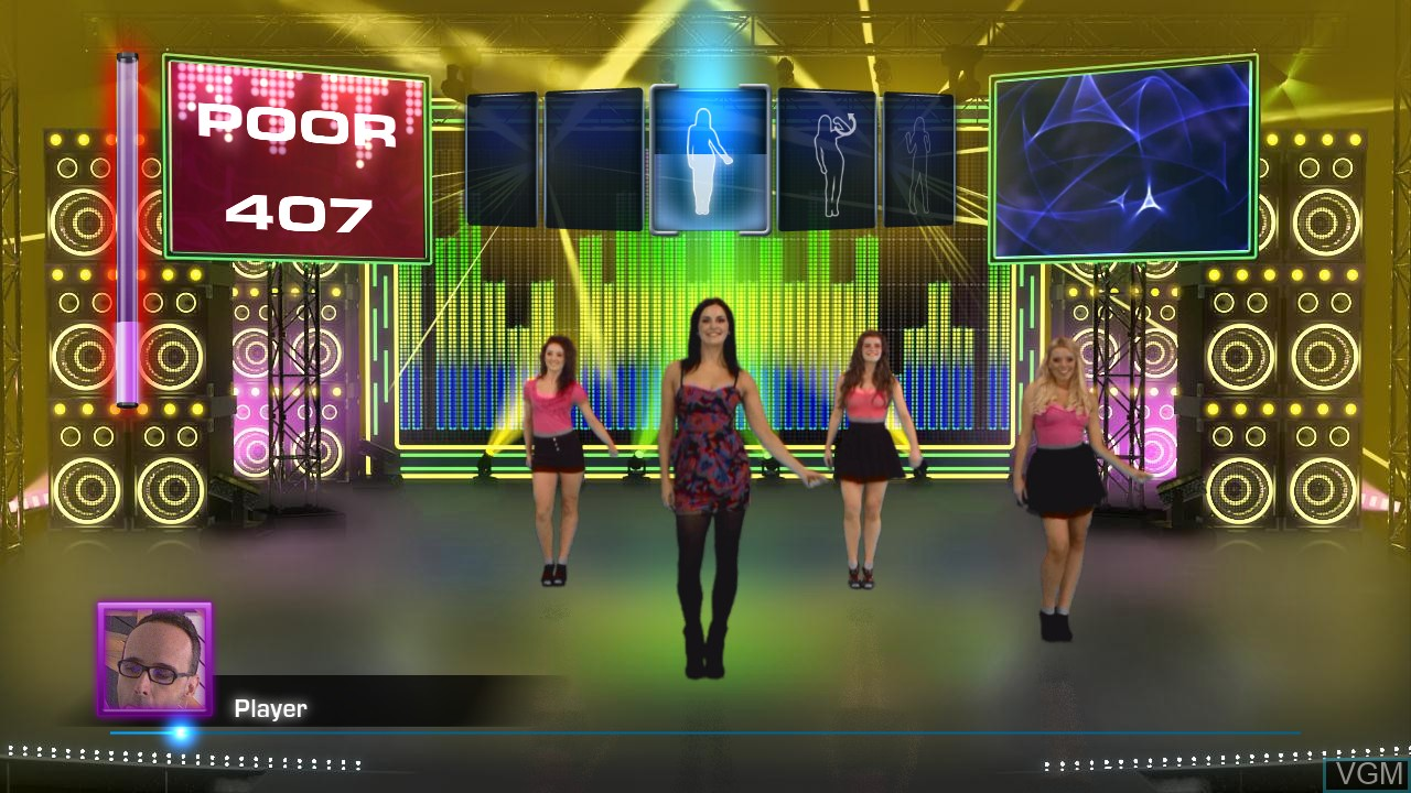 Image in-game du jeu Let's Dance sur Microsoft Xbox 360