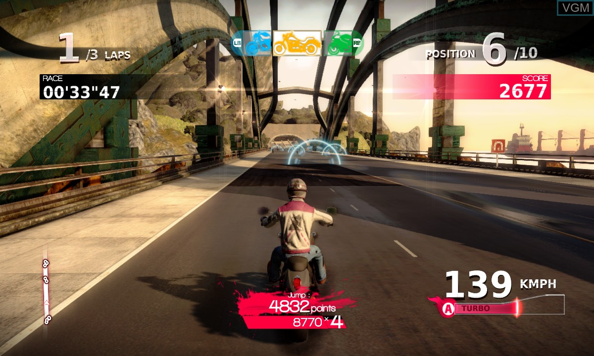 Image in-game du jeu Motorcycle Club sur Microsoft Xbox 360