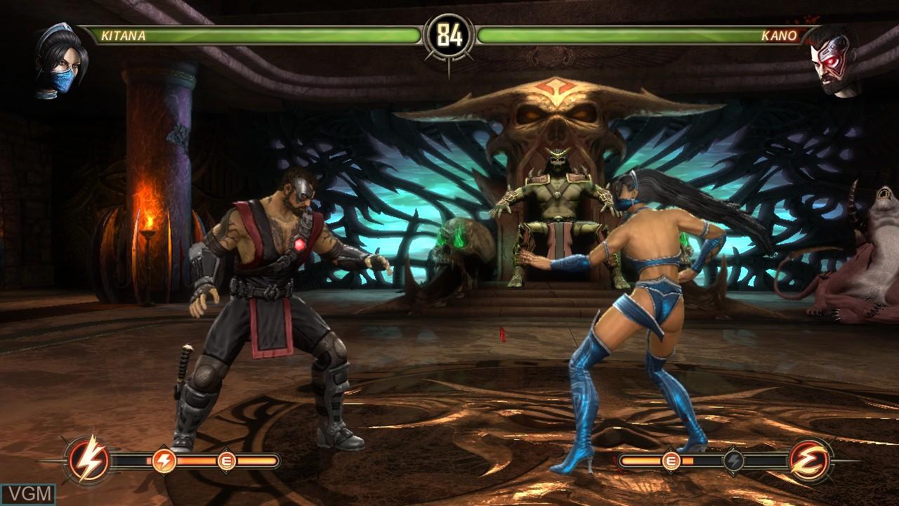 Image in-game du jeu Mortal Kombat Komplete Edition sur Microsoft Xbox 360
