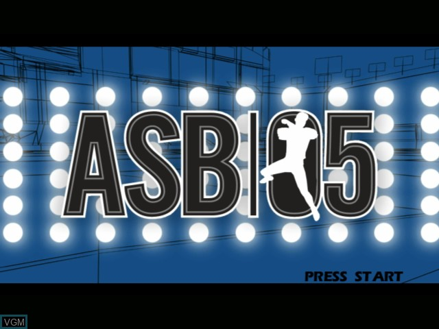 Image de l'ecran titre du jeu All-Star Baseball 2005 sur Microsoft Xbox