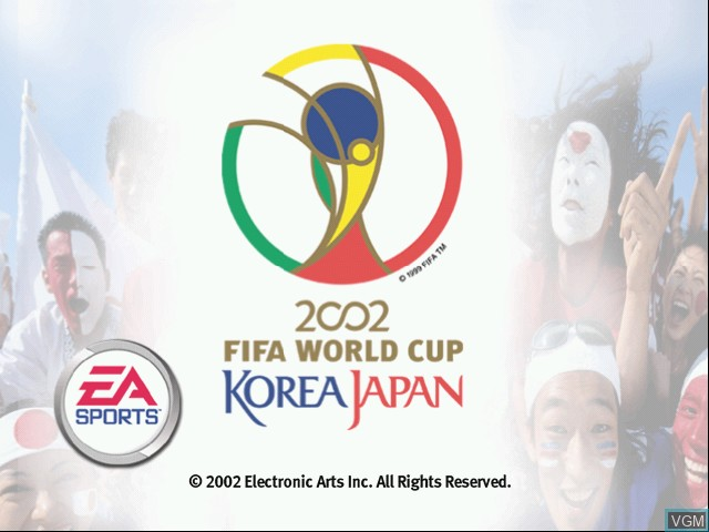 Image de l'ecran titre du jeu 2002 FIFA World Cup sur Microsoft Xbox
