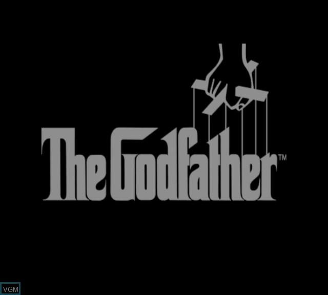 Image de l'ecran titre du jeu Godfather, The sur Microsoft Xbox