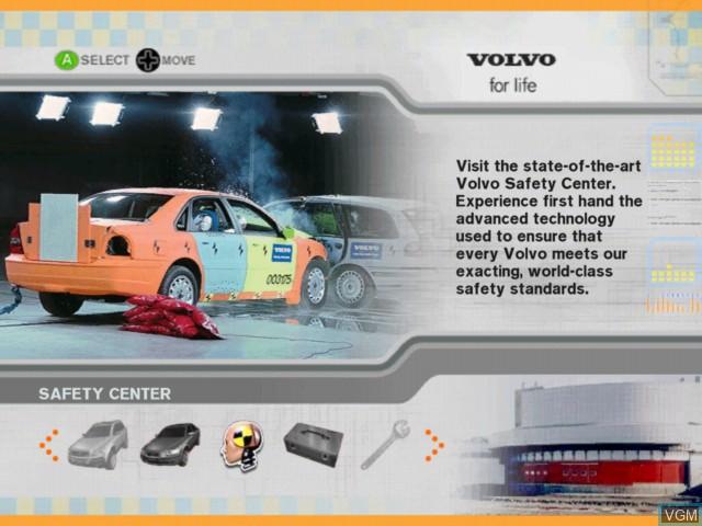 Image du menu du jeu Volvo - Drive for Life sur Microsoft Xbox