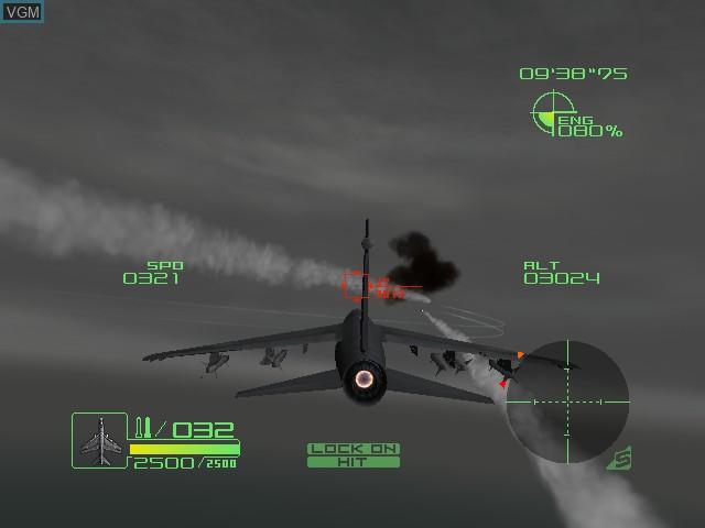 Image in-game du jeu AirForce Delta Storm sur Microsoft Xbox