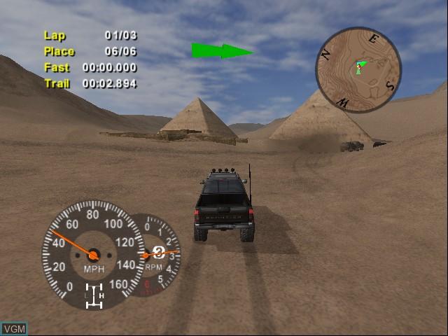 Image in-game du jeu 4x4 EVO 2 sur Microsoft Xbox