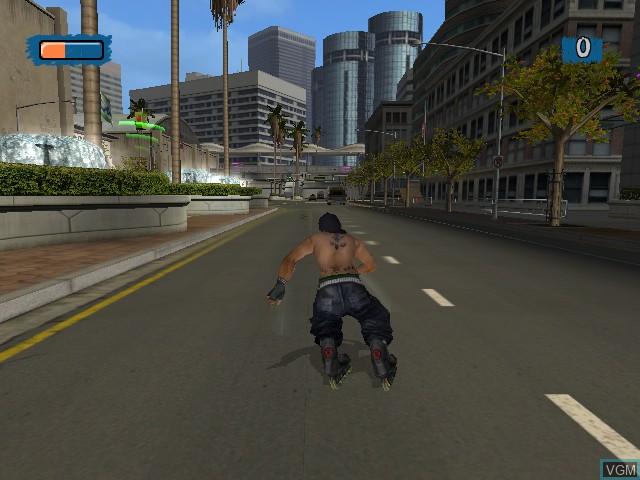 Image in-game du jeu Aggressive Inline sur Microsoft Xbox