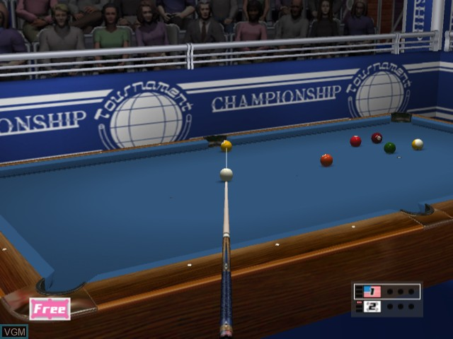 World Billiards Tournament - Break Nine
