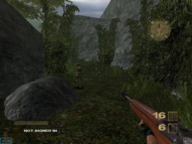 Image in-game du jeu Vietcong - Purple Haze sur Microsoft Xbox