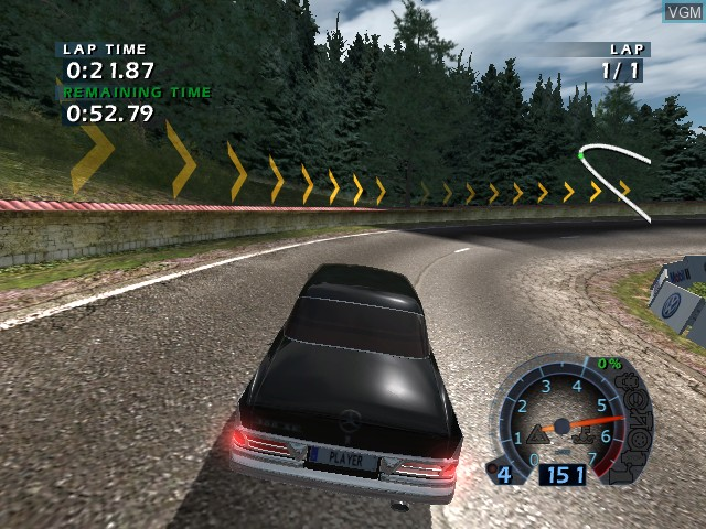 Image in-game du jeu World Racing 2 sur Microsoft Xbox