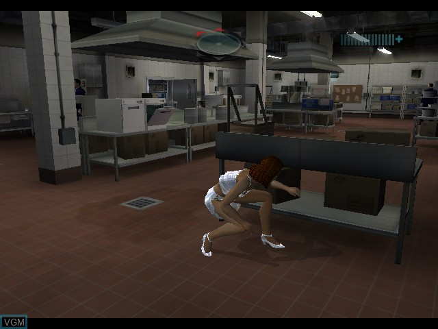 Image in-game du jeu Alias sur Microsoft Xbox