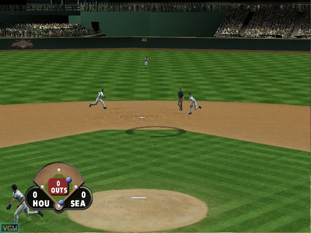 Image in-game du jeu All-Star Baseball 2004 sur Microsoft Xbox