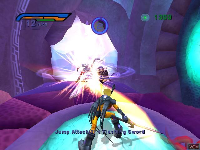Image in-game du jeu Alter Echo sur Microsoft Xbox