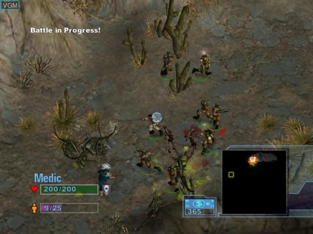 Image in-game du jeu Aliens Versus Predator - Extinction sur Microsoft Xbox