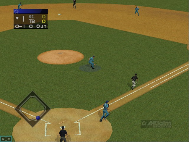 Image in-game du jeu All-Star Baseball 2003 sur Microsoft Xbox