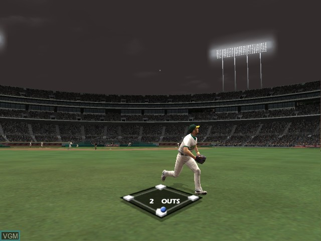 Image in-game du jeu All-Star Baseball 2005 sur Microsoft Xbox