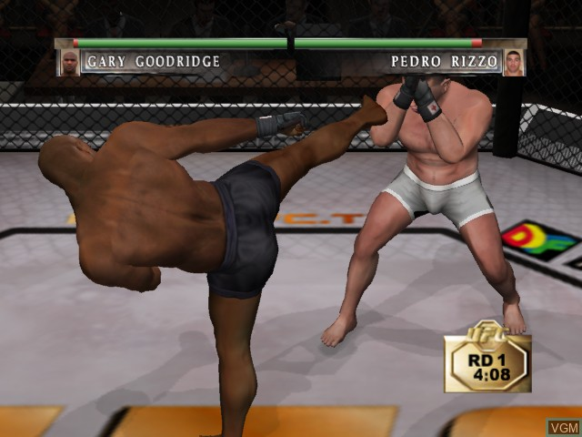 Image in-game du jeu Ultimate Fighting Championship - Tapout sur Microsoft Xbox