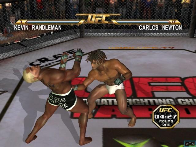 Image in-game du jeu UFC - Tapout 2 sur Microsoft Xbox