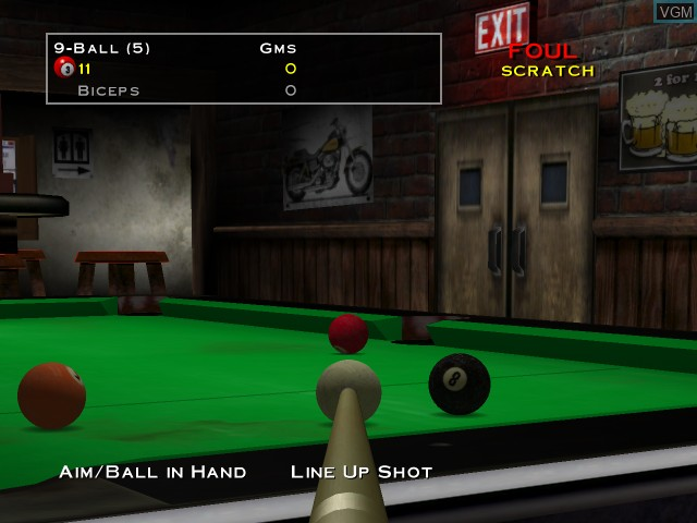 Image in-game du jeu Virtual Pool - Tournament Edition sur Microsoft Xbox