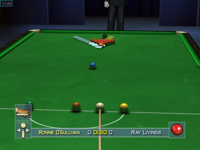 Image in-game du jeu World Championship Snooker 2004 sur Microsoft Xbox