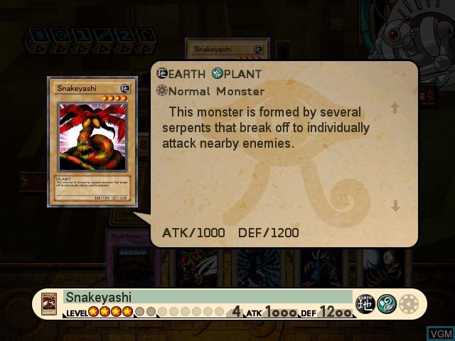 Image in-game du jeu Yu-Gi-Oh! The Dawn of Destiny sur Microsoft Xbox