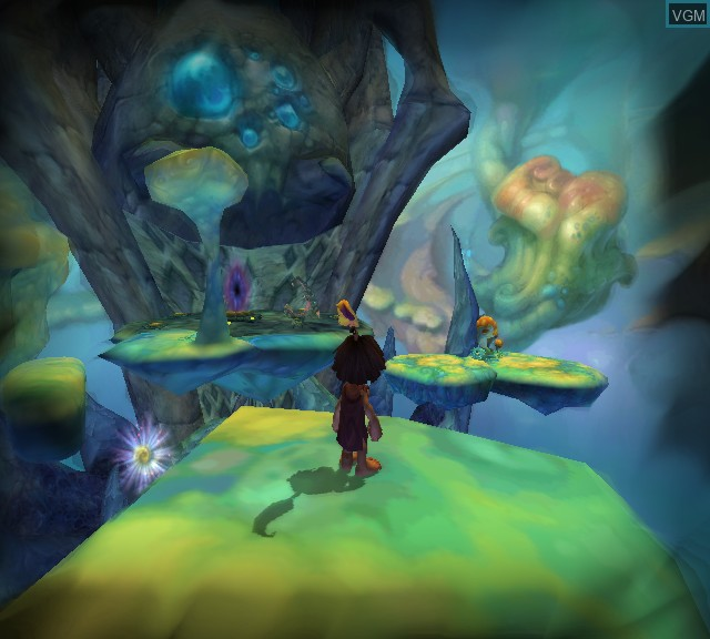 Image in-game du jeu Tak 2 - The Staff of Dreams sur Microsoft Xbox