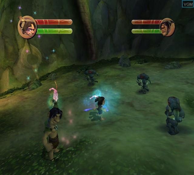 Image in-game du jeu Tak - The Great Juju Challenge sur Microsoft Xbox
