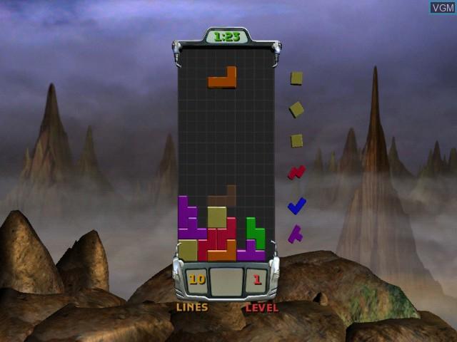 Image in-game du jeu Tetris Worlds sur Microsoft Xbox