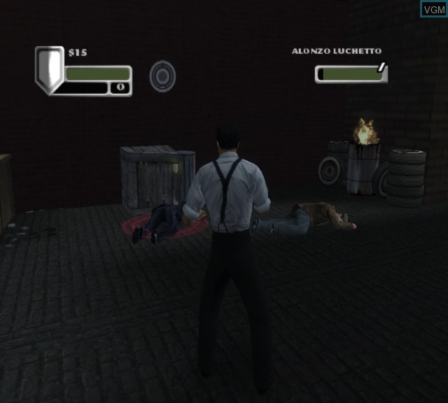 Image in-game du jeu Godfather, The sur Microsoft Xbox
