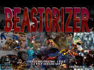 Image de l'ecran titre du jeu Beastorizer sur Zinc