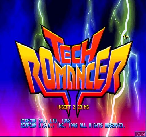 Image de l'ecran titre du jeu Tech Romancer sur Zinc