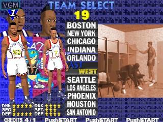 Image du menu du jeu Dunk Mania sur Zinc