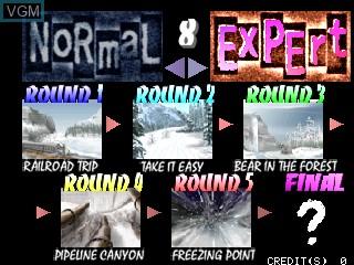 Image du menu du jeu Cool Boarders Arcade Jam sur Zinc