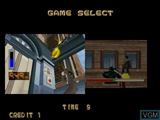 Image du menu du jeu Tondemo Crisis sur Zinc