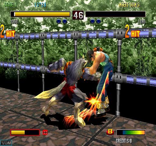 Image in-game du jeu Bloody Roar 2 sur Zinc