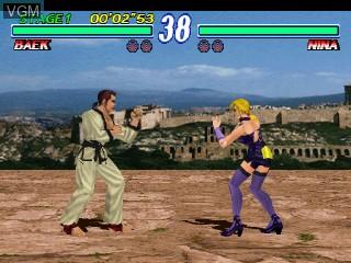 Image in-game du jeu Tekken 2 sur Zinc